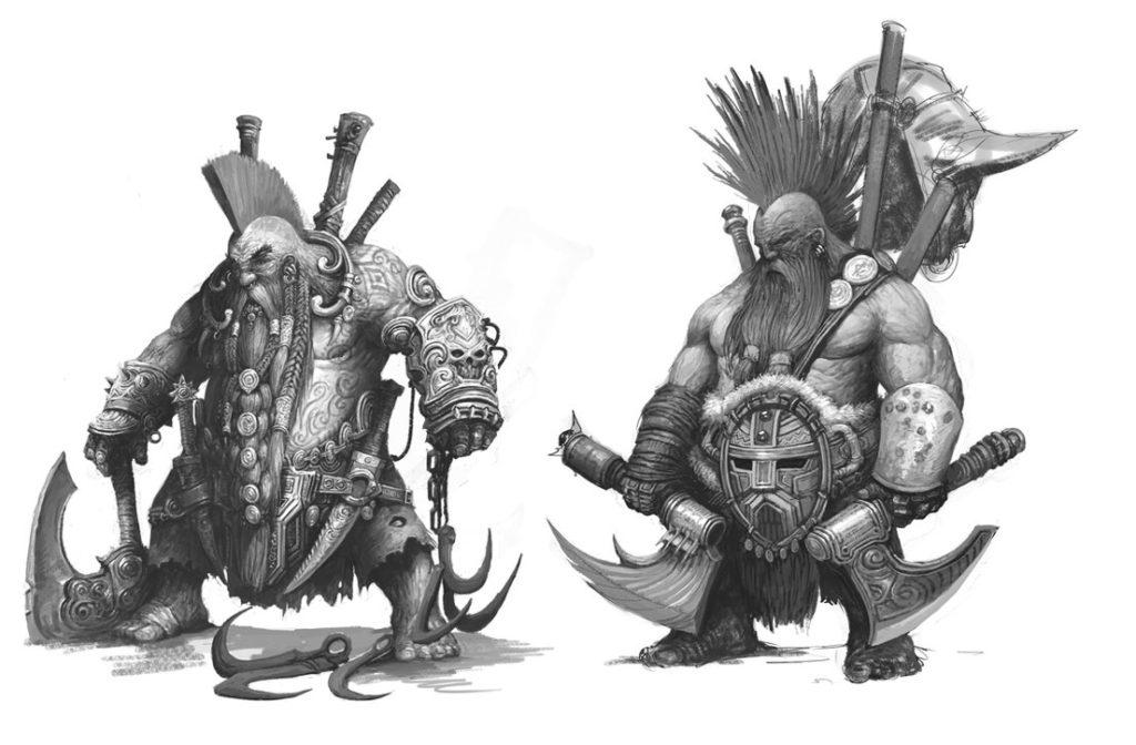 cazadores de tesoros enanos