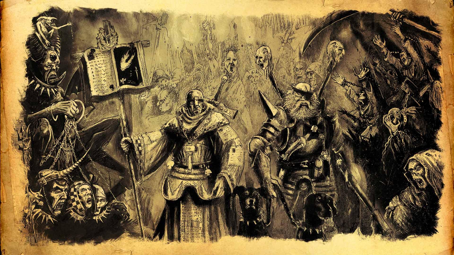 Mordheim cazadores de brujas